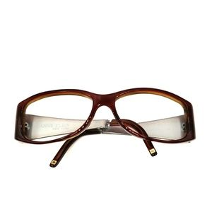 Anne Klein Brown Oval/Rectangle Sunglasses Frames